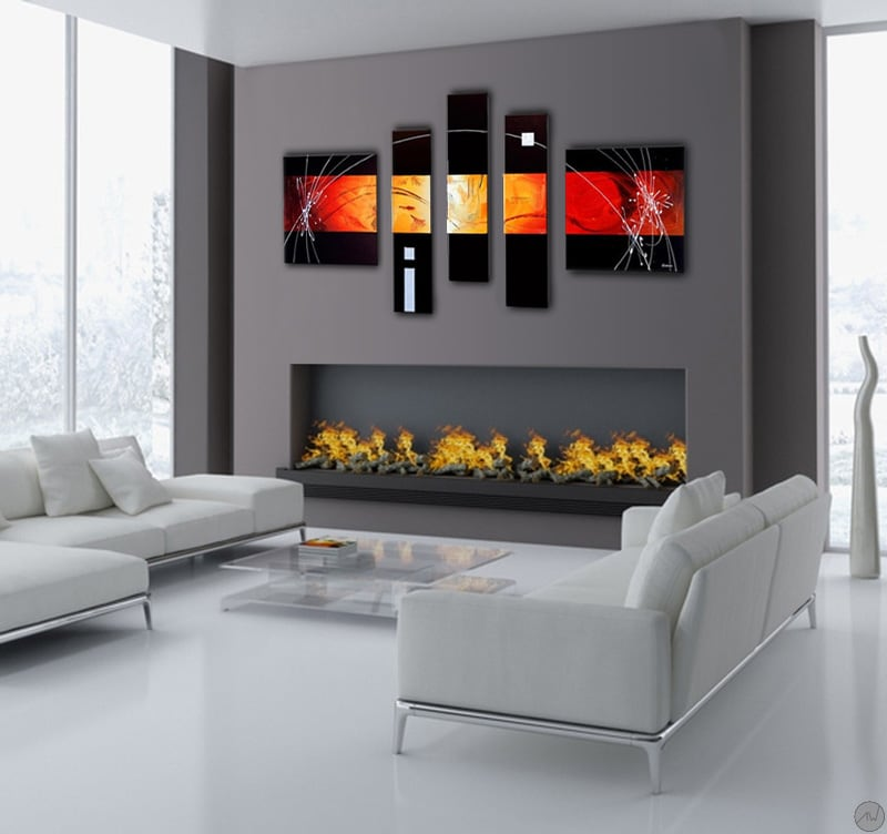 Future design abstract tableau moderne - Comment faire un tableau contemporain ...